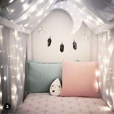 Shine like the whole universe is yours ✨ Blush Baby Cot Sheets in blush pink  Tap for details