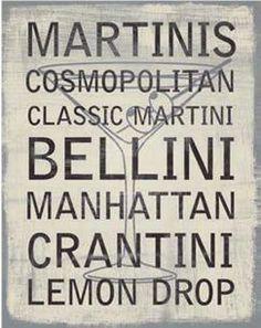 Martini Variety - David Fischer