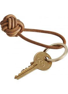 OYOY Schlüsselanhänger Knots Leder - auch unterwegs stylish! Erhältlich bei www.kleinefabriek.com.