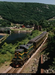 RailPictures.Net Photo: GMRC 405 Green Mountain Railroad Alco RS-1 at Bellows Falls, Vermont by Rail Archive Stephenson
