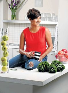 MasterChef SA's Kamini Pather dishes on her decor style Hair Tutorials For Medium Hair, Medium Hair Styles, Short Hair Styles, Pixie Hairstyles, Pixie Haircut, Pretty Hairstyles, Layered Hairstyles, Pelo Pixie, Corte Y Color