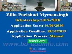 Zilla Parishad Mymensingh Scholarship 2017-2018   www zpmymensingh org bd Scholarships For Graduate Students, Undergraduate Scholarships, Job Circular, Application Letters, High School Seniors, Higher Education, Positivity, How To Apply