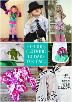 Fun Clothing to Make For Fall #fashion #DIY #sewing - Check out my other pins as guest pinner for @FaveCrafts this month!