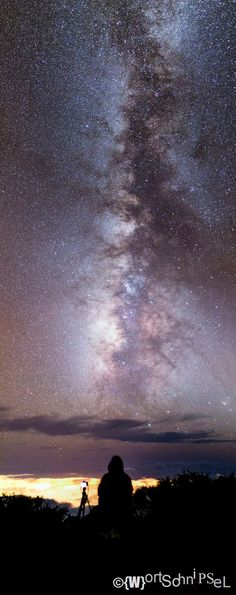 Milky Way over Canary Island La Palma