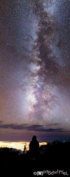 Milky Way over Canary Island La Palma