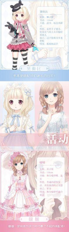 Miracle Nikki - Characters