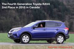 A new model Toyota RAV4 immediately becomes with the most fuel-efficient non-plug-in compact crossover & Gas models start at $24,990.