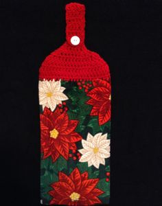 A personal favorite from my Etsy shop https://www.etsy.com/listing/492848239/crocheted-top-dish-towel-poinsettias