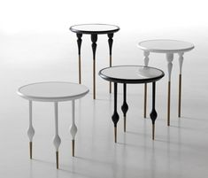'Philippe I' side and coffee tables by Sam Baron for Casamania.