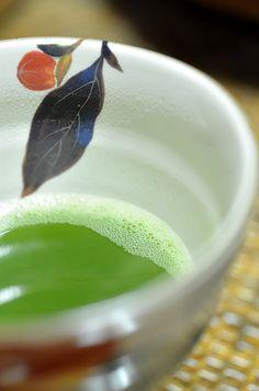 tea‐ceremony. KAKI pattern