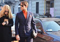 Milan Fashion Week Fall 2012- Men's Street Style