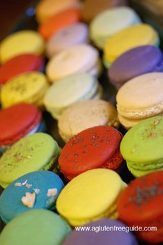 gluten free french macaroons. surprisingly simple recipe with lots of flavor variations.