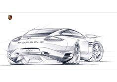 Sketch+928-2 #porsche…