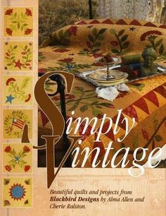 Primitive Quilting Book by Alma Allen of by PrimitiveQuilting, $24.95