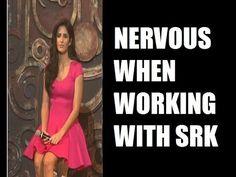 Katrina Kaif - I become NERVOUS when working with Shahrukh Khan.
