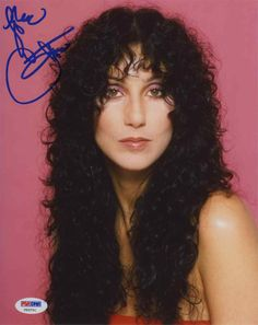Cher Classic Signed 8x10 Photo Certified Authentic PSA/DNA