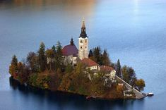 Church of the Assumption of Mary. Bled Lake, Slovenia
