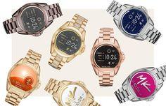 Smartwatches de Michael Kors (Foto: Arte Vogue Online)