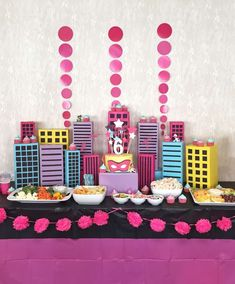 Barbie in Princess Power birthday party! See more party ideas at CatchMyParty.com!