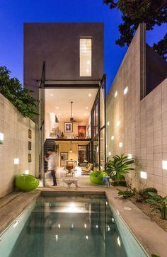 Modern Mexico residence by @Taller Estilo Arquitectura
