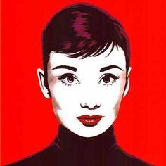 Pop art audrey hepburn | Pinterest | Audrey hepburn, Audrey hepburn ...