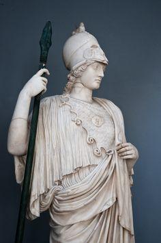 pallas Athena statue - Vatican
