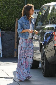 Alessandra Ambrosio wearing Spell Designs in LA | Coachella Weekend 1 | spelldesigns.com