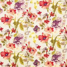 Pattern #42351 - 638 | Fontana Print Collection | Duralee Fabric by Duralee