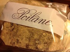 You can now buy Poilâne bread at 57 degrees north. #respect