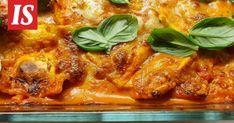 Outin pastasta tuli hitti, eikä syyttä! Testasimme superhelpon 4 aineksen arkiruoan, ja se todella toimii - Ajankohtaista - Ilta-Sanomat Tuli, Ravioli, Mozzarella, Lasagna, Food And Drink, Pasta, Ethnic Recipes, Simple, Lasagne