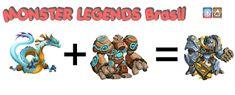 Monster Legends Breeding Guide, Monster Legends Game, Legend Games, Dragon City, Monsters, Video Games, Couple, Color Combinations, Games