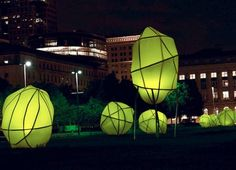 Solar powered public art in Cleveland