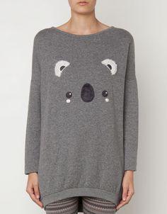 Koala fleece top