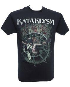 Kataklysm - Corruption Heavy Metal Fashion, Metal Shirts, Menswear, Mens Tops, How To Wear, Style, Swag, Men Wear, Men's Clothing
