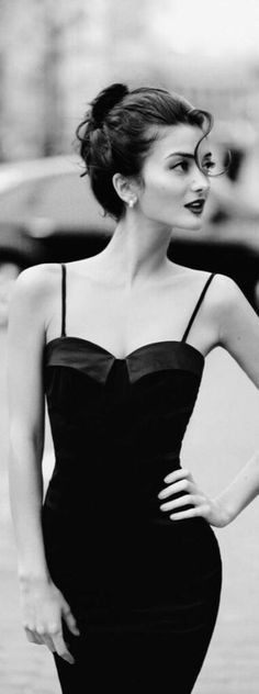 """Little Black Dress Today showcased Sensual Female Portraits are related to the glamour photography and it sub category """"Boudoir Photography"""" and. Look Fashion, High Fashion, Fashion Beauty, Womens Fashion, Fashion Black, Fashion Night, Trendy Fashion, Latest Fashion, Korean Fashion"""