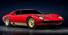The Lamborghini Miura was introduced to wild acclaim at the 1966 Geneva Motor Show | Amelia Island Concours