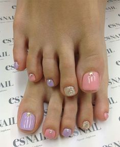Spring Toe Nail Art Designs More