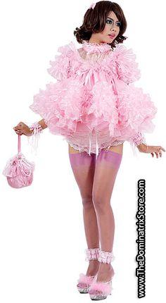pink babydoll dressed sissy sucks dick porn video