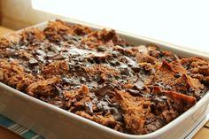 Chocolate Kahlua Bread Pudding