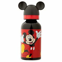 Disney Mickey Mouse Aluminum Water Bottle - Small | Disney StoreMickey Mouse Aluminum Water Bottle - Small - Mickey leaps for joy on this aluminum water bottle. Capped with a 3D Mickey ear lid, it'll keep you from going thirsty all 'ear round.