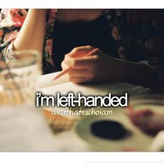 Writing my college entrance essay about being left handed?
