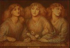 Dante Gabriel Rossetti - Rosa Triplex