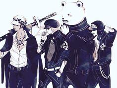 sarge1130: Heart Pirates… More like a rock band... - Yuu Shishio