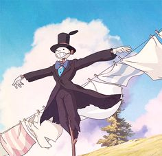 howls moving castle animated GIF