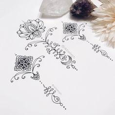 Ideas de tatuajes con significado: tatuaje budista que representa sabiduría