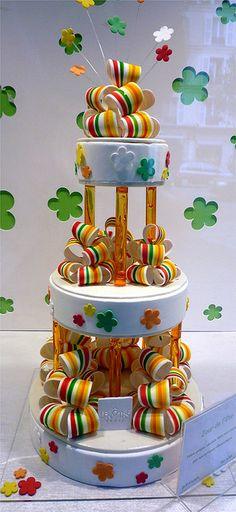 Lenotre wedding cake