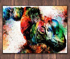 Superhero Incredible Hulk digital download The by DidiPrint