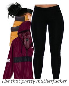 """You Know These H.oes Wishy Washy. They'll f.ck yo partner..."" by chain-g-a-n-g ❤ liked on Polyvore featuring Timberland and Victoria's Secret PINK"