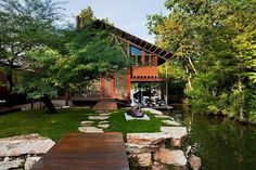 Superb Lake Austin House By Audino Construction