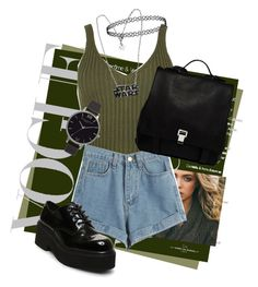 """""""Untitled #128"""" by kidrauhleer on Polyvore featuring WearAll, WithChic, Steve Madden, Proenza Schouler and Olivia Burton"""